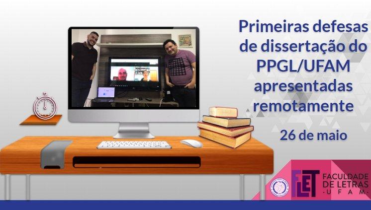 Defesas de dissertação do Mestrado em Letras estão sendo realizadas por videoconferências online
