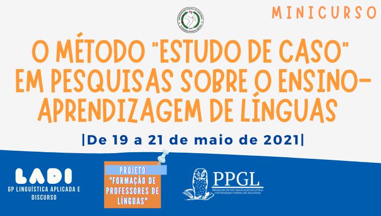PPGL/UFAM oferece minicurso na área de estudos da linguagem